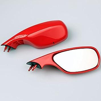 Spiegel Set Rot Passend Für Ducati 748 916 996 998 Bj 1994 2003 Auto