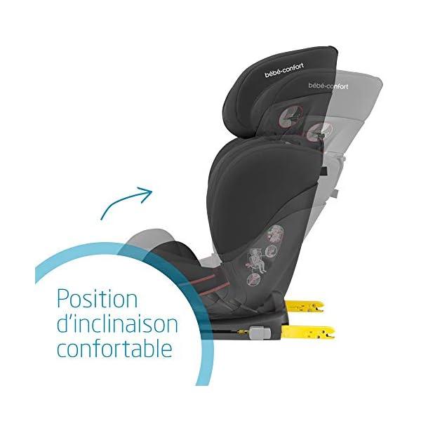 Bébé Confort Rodifix Airprotect, Siège-auto Groupe 2/3 (15 à 36 kg), ISOFIX, de 3,5 à 12 ans, Authentic Black