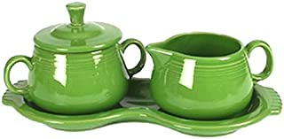 product image for Fiesta Covered Sugar and Creamer Set with Tray, Shamrock