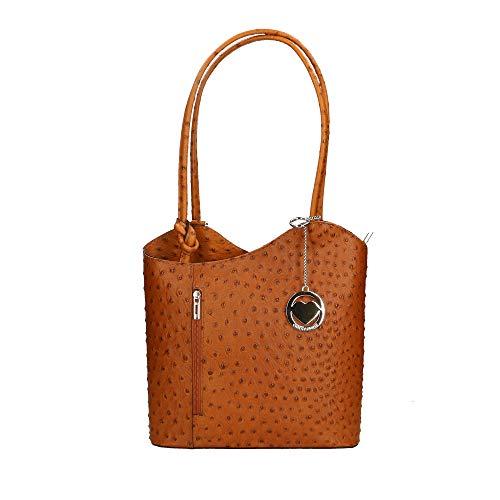 Spalla Chicca In Cuoio Borsa 28x30x9 Borse A Italy Pelle Made Cm Bag O1w1Iqng