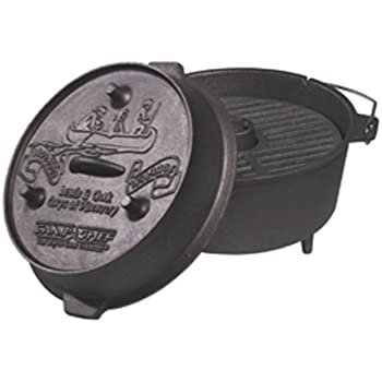 The Camp chef UDO-14 Ultimate Dutch Oven. 9 1/2 Quarts, Cast Iron.