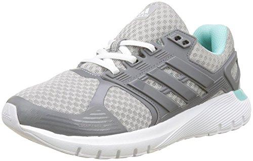 adidas Originals Women's Duramo 8 W Running Shoe, Grey Two/Grey Three/Energy Aqua, 7.5 M US