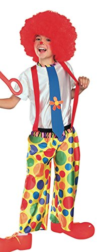 Chuckles Costume The Clown (Rubie's Costume Chuckle King Clown Child Costume,)