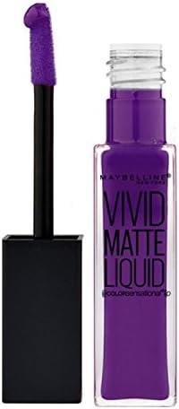 (3 Pack) MAYBELLINE Vivid Matte Liquid - Vivid Violet (並行輸入品)