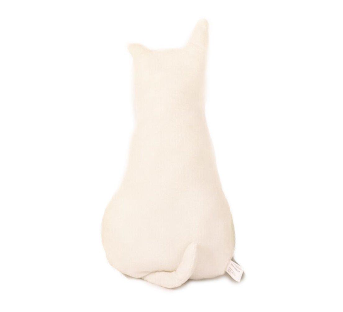 Amazon.com: Kenmont Cute Cat Shape Pillow Cushion Stuffed Plush Toys Dolls Gifts (45 cm, White): Home & Kitchen