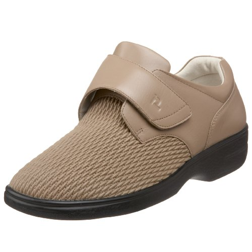Propet Women's Olivia Shoe, Taupe, 7 Wide US by Propét
