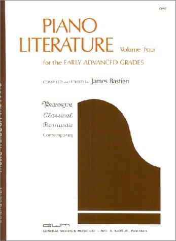 GP57 - Piano Literature - Volume 4 - Bastien (Music Through the Piano) ()