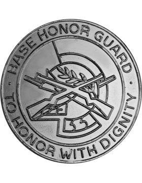 Usaf Base (HG-AF32, BASE HONOR GUARD BADGE, NICKEL FINISH)