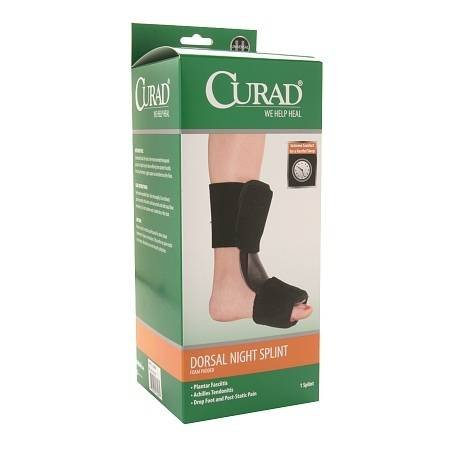 Curad Performance Series Dorsal Night Splint - 2PC by Curad