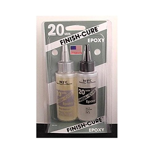Finish-cure 20min epoxy 4.5oz Bob Smith Ind.