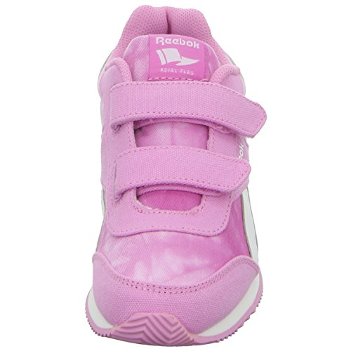 Reebok Royal CLJOG 2GR 2V - Zapatillas de running, Niñas Rosa / Blanco (Icono Pink / Wht)