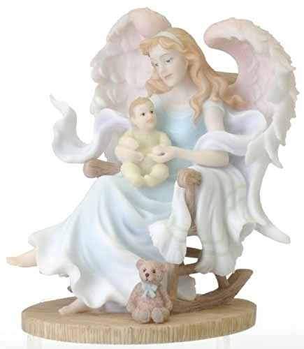 "Roman 6.5"" Seraphim Classics Gretchen - Mother's Embrace Angel Figure #78892"