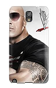 9280290K96732127 Top Quality Rugged Wwe 12 The Rock Case Cover For Galaxy Note 3