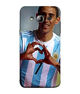 ColorKing Football Dimaria Argentina 02 Multi Color shell case cover for Samsung J5 2015
