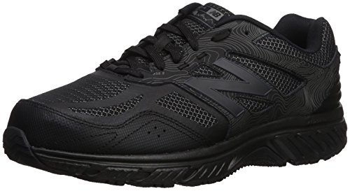New Balance Men's 510v4 Cushioning Trail Running Shoe, Black, 9.5 D US