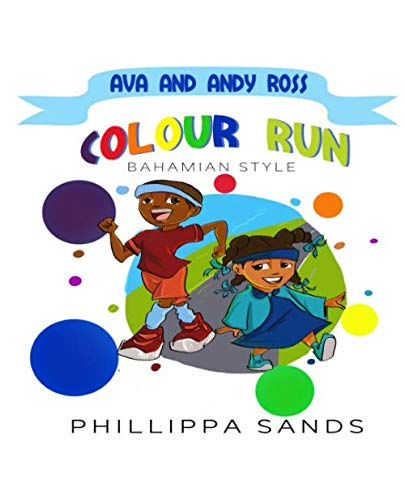 Ava and Andy Ross: Colour Run