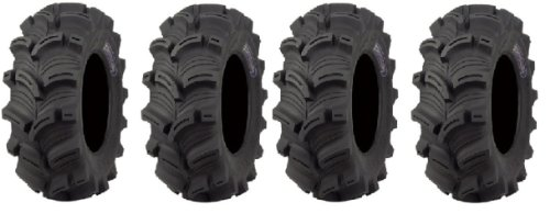 Full set of Kenda Executioner  25x8-12 and 25x10-12 ATV Tire