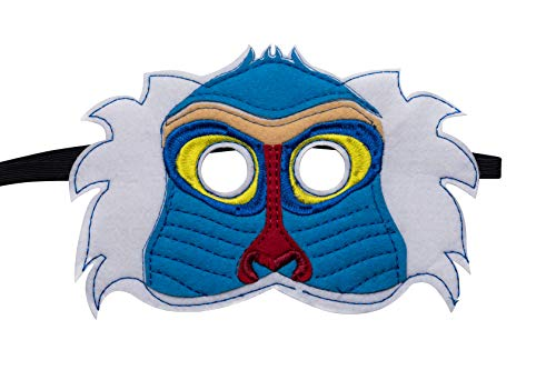 Kids Lion Animal King Mask Handmark Felt