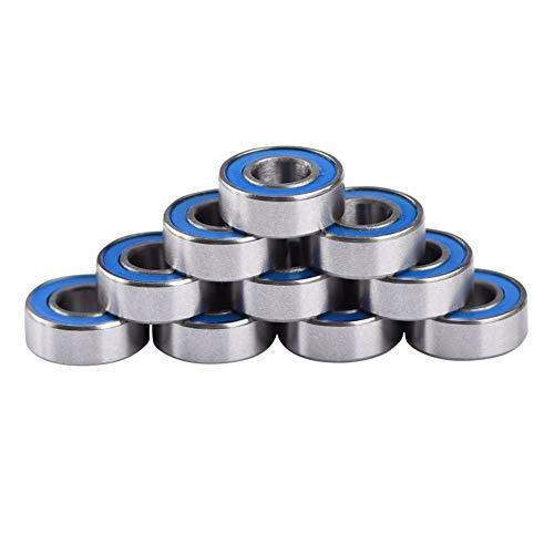 Bearing Bearing - 10pcs Mr115zz Ball Bearing Miniature Groove 5 4 Printer Functional Mechanical - Presence Clump Mien Clod Heading Orb Charge Gonad Musket Heraldic Nut -