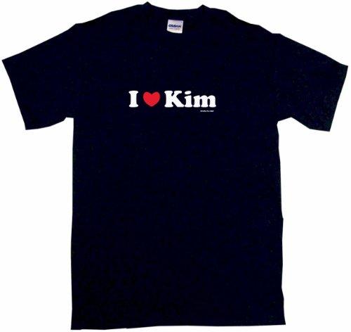 - I Heart Love Kim Men's Tee Shirt 2XL-Black