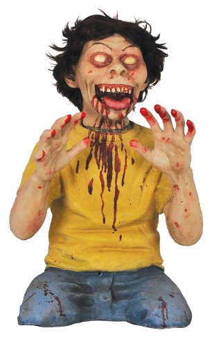 TWISTED TEASER BOY ANIMATED PROP Crazy Scary Haunted House Yard Decor Halloween MR124166 (Wretched Animated Prop)
