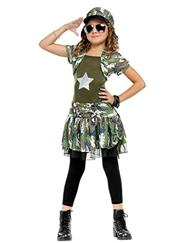 Costume Pattern Army Childrens (Army Brat Child Md 8-10)