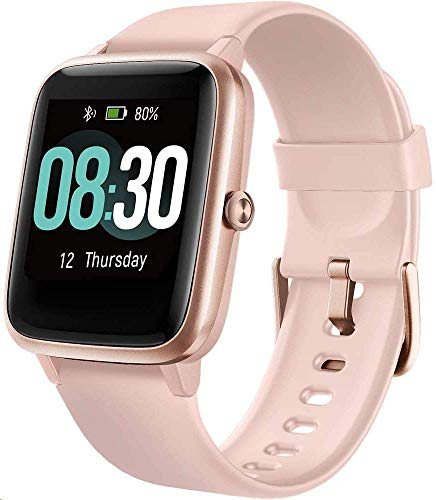 UMIDIGI Uwatch3 Smart Watch Fitness Trackers with 5ATM Waterproof All-Day Heart Rate and Sleep Monitoring Activity…
