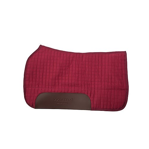 rn Saddle Pad Burgundy ()