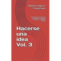 Hacerse una idea Vol. 3: Artículos para la formación de profesores de lenguas extranjeras y segundas lenguas (Spanish Edition)