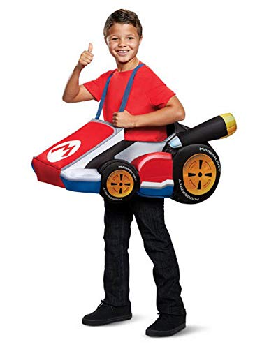 Disguise Mario Kart Child Child Costume, One Size Child