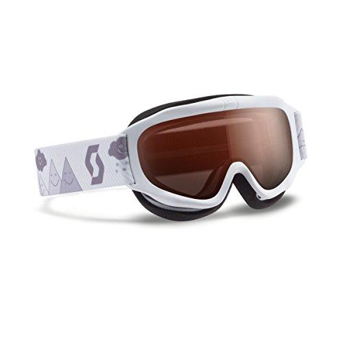 (Scott 2016/17 Youth Trooper Junior Winter Snow Goggles - Amplifier Lens - 240137 (White - Amplifier Lens))
