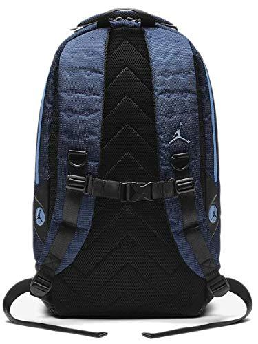 half off 9cdd2 5bd5e Nike Air Jordan Retro 13 Backpack Laptop Storage Shoe Pocket Bag (Navy Blue)