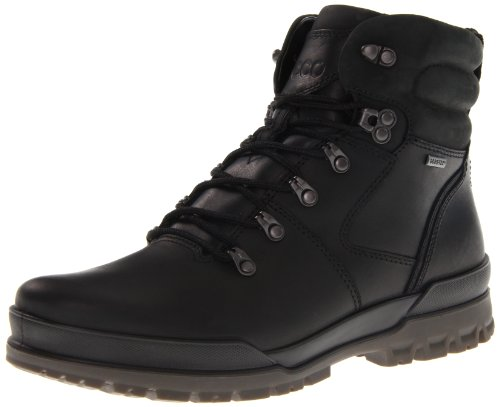ECCO Men's Track 6 GTX Plain Toe Boot,Black,40 EU/6-6.5 M (Ecco Plain Boots)