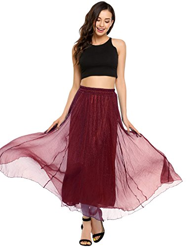 Womens A-line No Pleat Skirt - 1