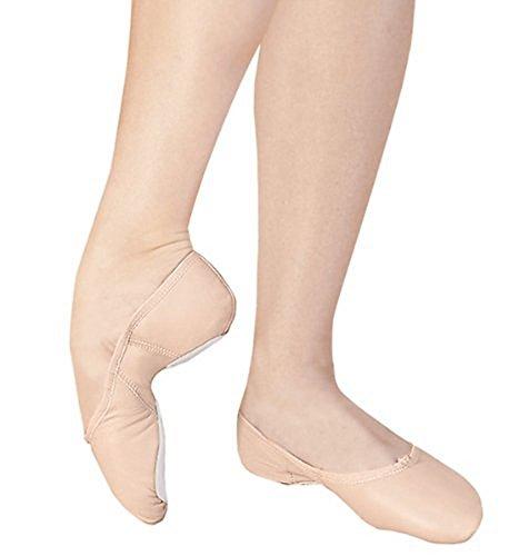 Capezio Vuxen Juliet Läder Balettskor, Lätta Balett Rosa, 12m