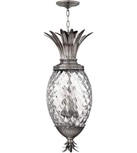 Pendants 4 Light Fixtures with Polished Antique Nickel Finish Cast Aluminum Material Candelabra 13