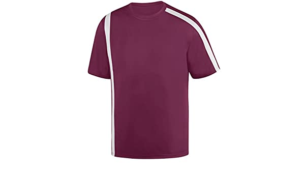 7f5561adead 1621 Attacking Third Jersey - Youth MAROON WHITE S  Amazon.ca  Home    Kitchen