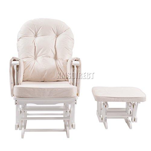 Prime Foxhunter Nursing Glider Maternity Rocking Chair With Machost Co Dining Chair Design Ideas Machostcouk