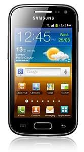 "Samsung Galaxy Ace 2 (i8160) - Smartphone libre (pantalla táctil de 3,8"" 480 x 800, cámara 5 Mp, 4 GB de capacidad, procesador de 800 MHz, 768 MB de RAM, S.O. Android 2.3.6 TouchWiz), negro"