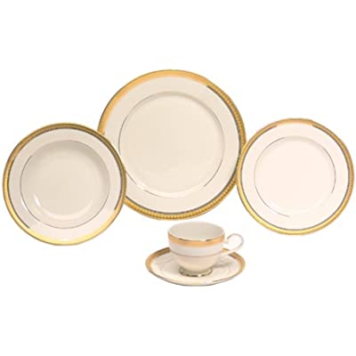 Click for Mikasa Palatial Gold 5-Piece Place Setting, Service for 1