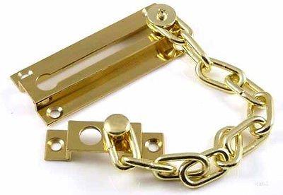Generic DYHP-A10-CODE-5935-CLASS-1-- keeper / fixing screws uard body / fixin Solid Brass Door lock ide bod security chain guard secu / slide Brass D --NV_1001005935-HP10-UK_2406