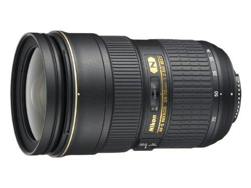 Nikon AF-S FX NIKKOR 24-70mm f/2.8G ED Zoom Lens with Auto Focus for Nikon DSLR Cameras (Renewed)