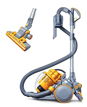 dyson dc08 silver yellow cylinder vacuum cleaner amazon co uk rh amazon co uk Dyson DC11 Dyson DC14