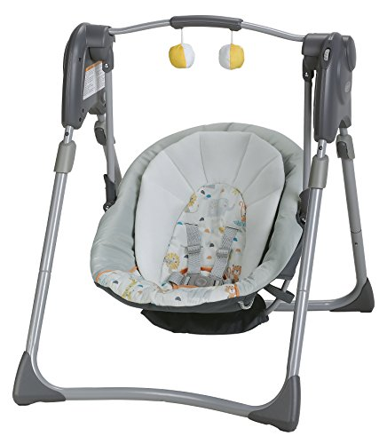 Graco Slim Spaces Compact Baby Swing Linus Price