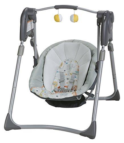 Graco Slim Spaces Compact Baby Swing Linus Buy Online