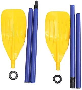 RollingBronze 1 Pair Kayak Paddle 120cm Detachable Compact Portable Boat Accessories Oars