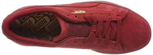 Mixte Puma Dahlia Dahlia Rouge Basses Tonal Sneakers red red Dahlia Adulte Suede Classic Red XFqBS1