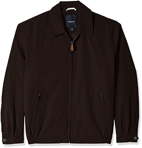 London Fog Men's Big Auburn Golf Jacket, Espresso, X-Large Tall London Fog Men Jackets
