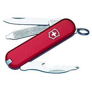Victorinox Swiss Army Rally Pocket Knife,Red