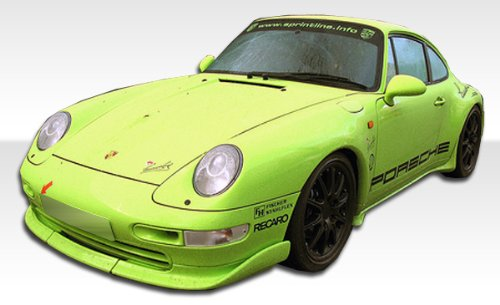 Duraflex Club - 1995-1998 Porsche 993 C2/C4/Targa Duraflex Club Sport Kit - Includes Club Sport Front Lip (105106), Club Sport Sideskirts (105107), and Club Sport Wing (105108). - Duraflex Body Kits